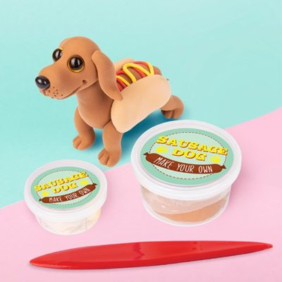 Fizz Creations Make your own dough sausage dog