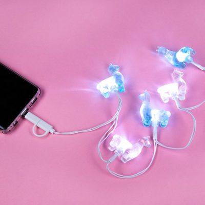 Fizz Creations Llama light up charger lights