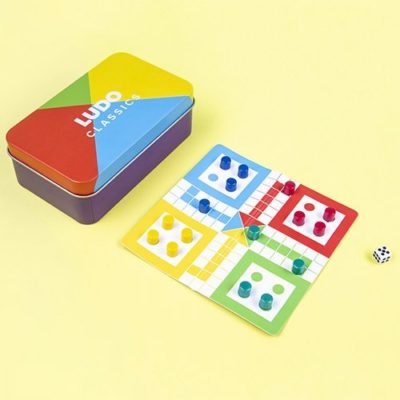 Fizz Creations Magnetic Ludo Travel Game