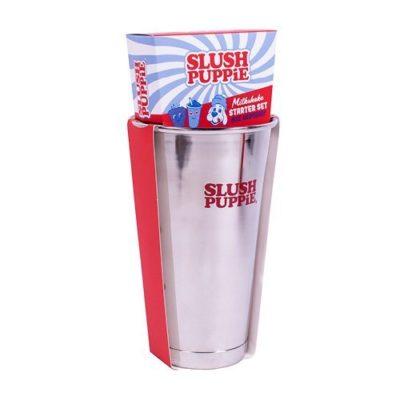 Slush Puppie Blue Raspberry Milkshake Set