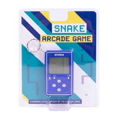 Fizz Creations Snake Arcade Keyring Game