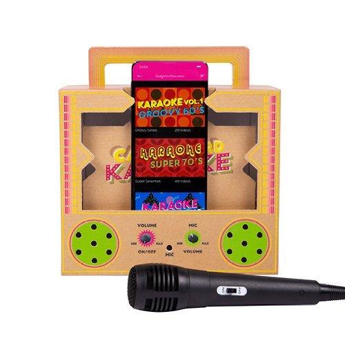 Cardboard Karaoke Fizz Creations