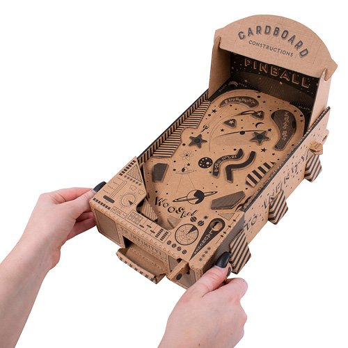 Fizz Creations Cardboard Constructions Pinball Machine