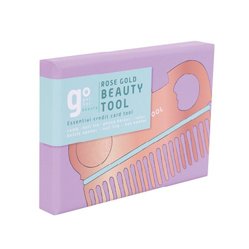 Fizz Rose Gold Credit Card Tool Packaging