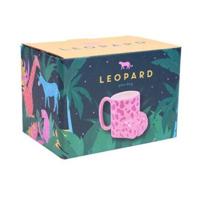 Leopard Paw Mug box