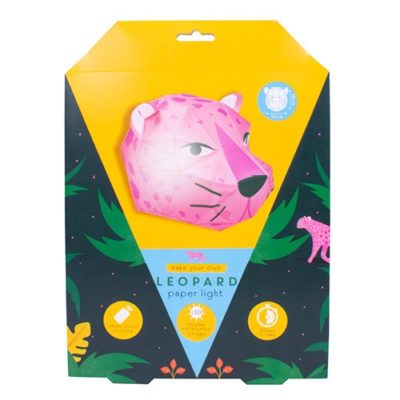 Hyper jungle leopard head light packaging
