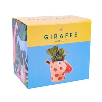 Hyper JUngle Giraffe Plant Pot Box
