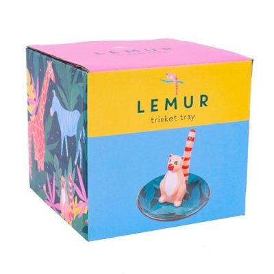 Lemur Trinket Tray packaging