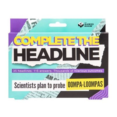 Complete the headlines game