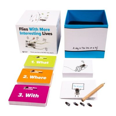 Flies with more interesting lives game contents