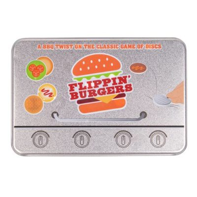 Fizz Creations Flippin Burgers Tiddlywinks Tin