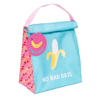No Bad Days Banana Lunch Bag