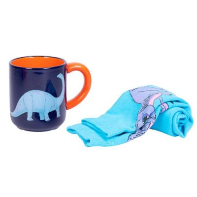 Fizz Dinosaur Mug and Sock Set