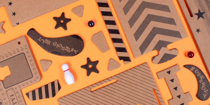 Fizz Creations Cardboard Constructions Range