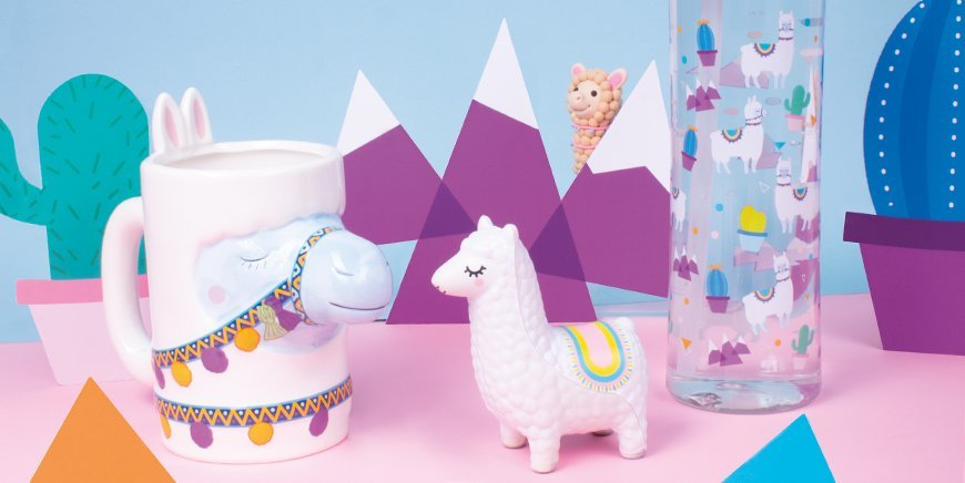 Fizz Creations Happy Llama Range