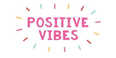 Fizz Creations Positive Vibes Logo