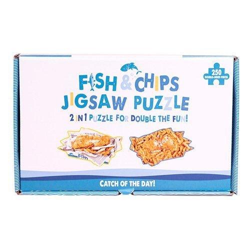Fizz Creations Fish & Chip Puzzle