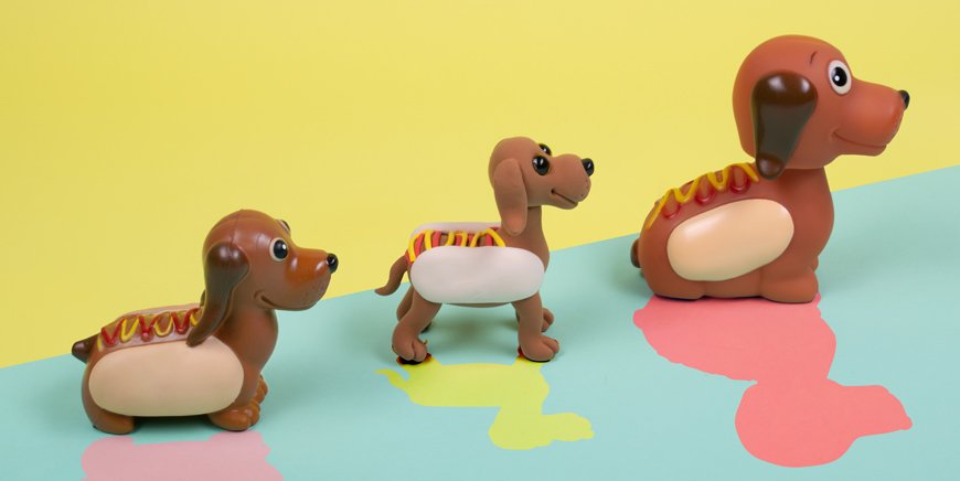 Fizz Creations Sausage Dog Range