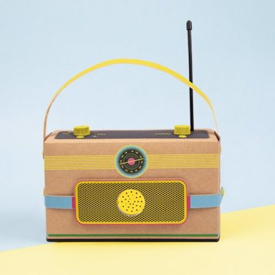 Fizz Creations Make your Own Tech Radio complete
