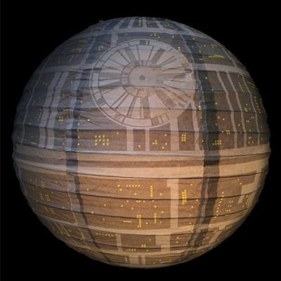 Star Wars Death Star Light Shade