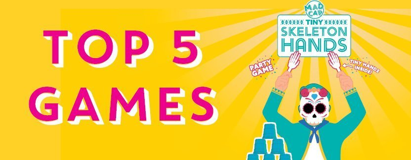 Creating fun with our top 5 games