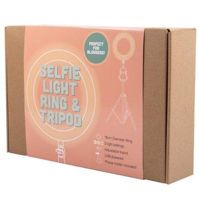 Fizz Creations Selfie Vlogging Light packaging