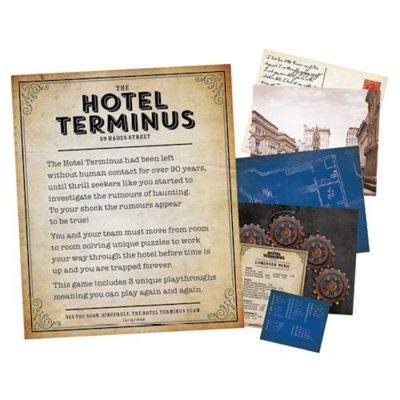 Fizz Creations The Games Room Escape the Haunted Hotel contents