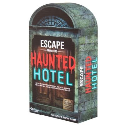 Fizz Creations The Games Room Escape the Haunted Hotel packaging