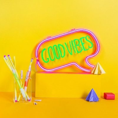 Fizz Creations Neon Speech Bubble Light Lifestyle Image