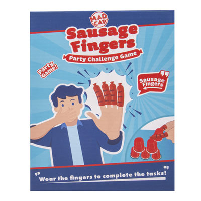 Fizz Creations Sausage Fingers Game Packaging Front
