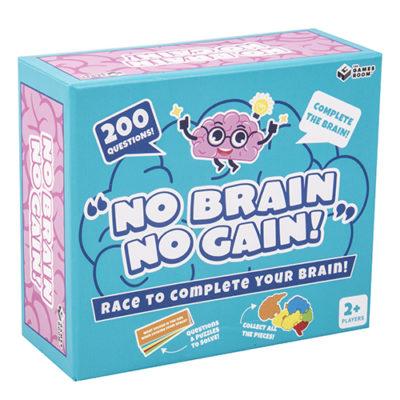 Fizz Creations No Brain No Gain Packaging Right