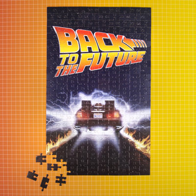 Fizz Creations Back To The Future Puzzle In a Tube Puzzle Front