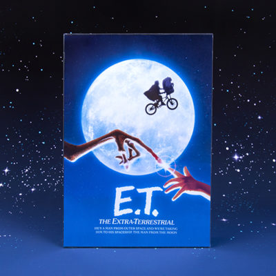 Fizz Creations E.T. Poster Light Front Background
