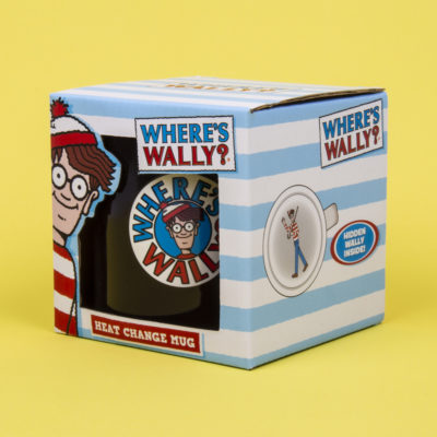 Fizz Creations Where's Wally? Heat Changing Mug Packaging Left