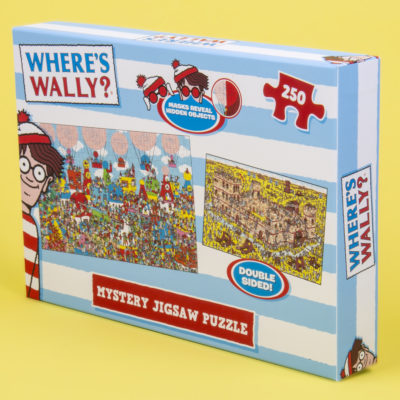 Fizz Creations Where's Wally? Mystery Puzzle Packaging Left