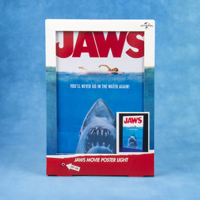 Fizz Creations Jaws Movie Poster Light Front Packaging