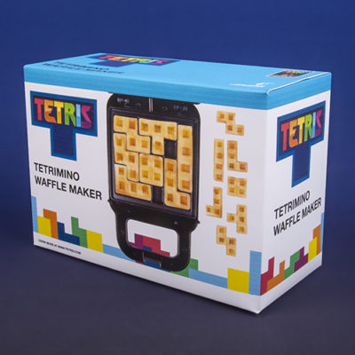 Fizz Creations Tetris Waffle Maker Left