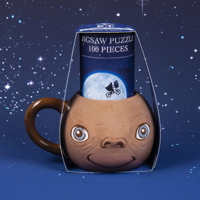 Fizz Creations E.T. Mug and Puzzle Set Packaging Front Background