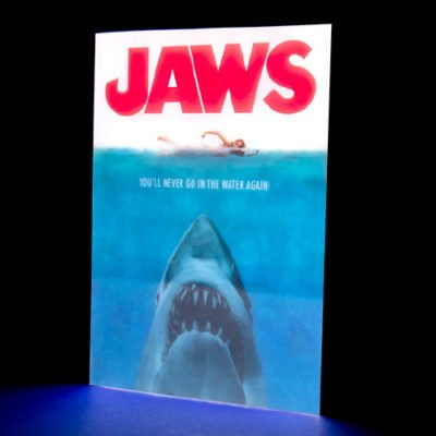 Fizz Creations Jaws Poster Light on