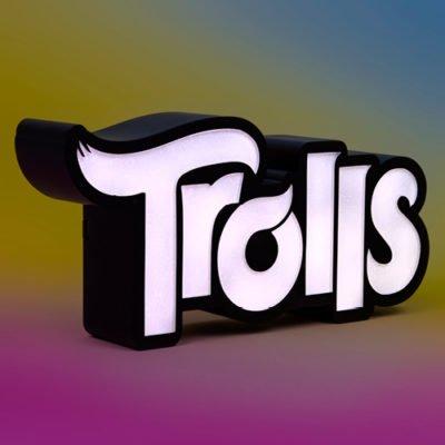 Fizz Creations Trolls Logo Light