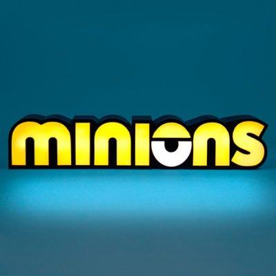 Fizz Creations Minions Logo Light