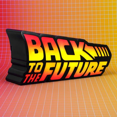 Fizz Creations Back To The Future Logo Light