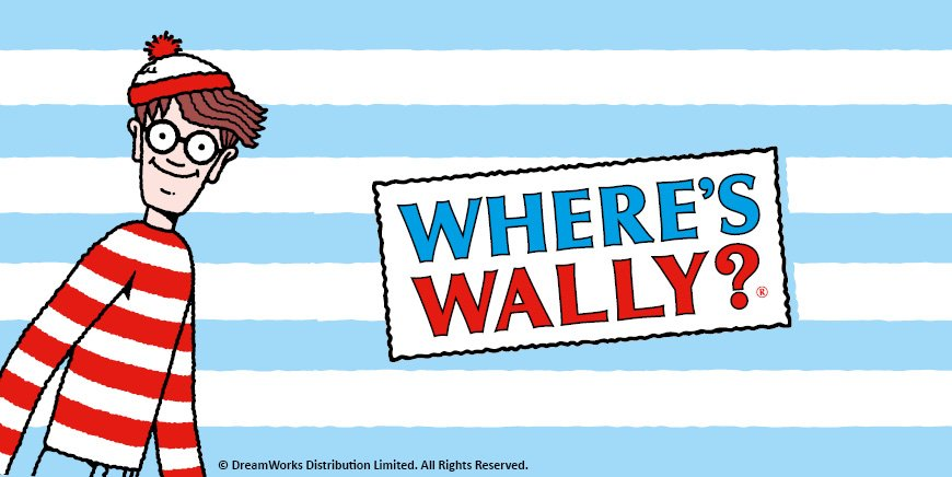 Fizz Creations Wheres Wally? Collection
