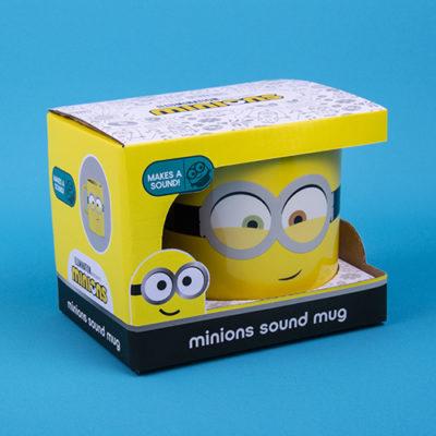 Fizz Creations Minions Sound Mug Packaging