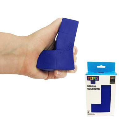 Fizz Creations Tetris Stress Squeezer Blue L