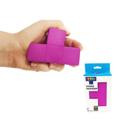 Fizz Creations Tetris Stress Squeezer Purple T