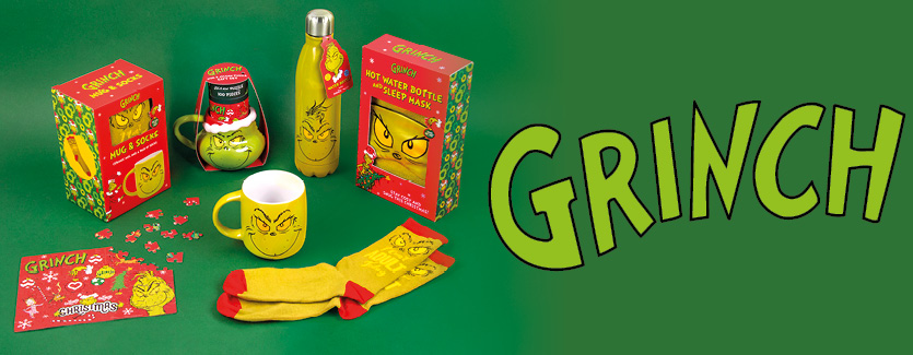 Fizz Creations The Grinch Gifting Range