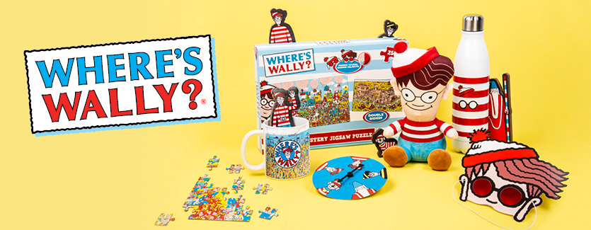 Fizz Creations Where's Wally? Collection