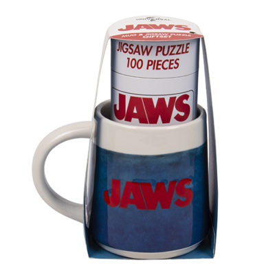 Fizz Creations JAWS Mug and Puzzle Set Packaging