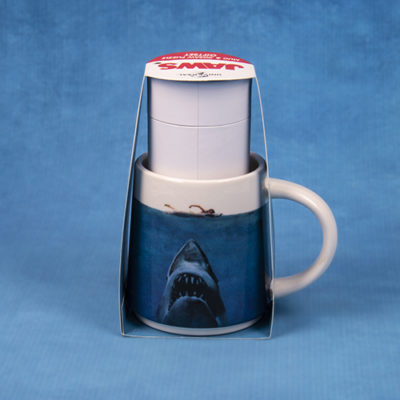Fizz Creations Jaws Mug and Puzzle Back 3D